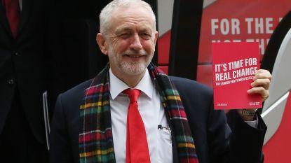 Labour-leider Jeremy Corbyn lanceert 'manifest van hoop'
