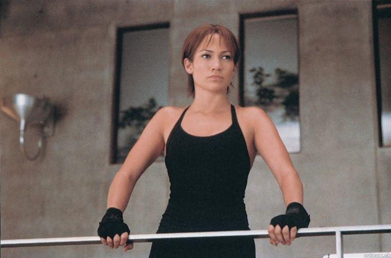 Jennifer Lopez in de film Enough. Beeld Enough