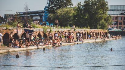 De ultieme kwelling, maar politie drijft patrouilles op: zwemmen in Houtdok en aan Blaarmeersen blijft verboden