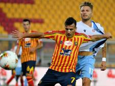 LIVE   Lazio in grote problemen tegen Lecce