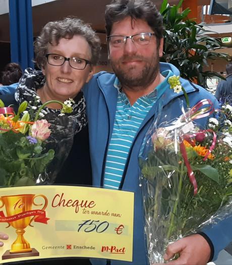 Geldprijs voor Mr. Smiley, alias Frans van Triest: 'Hier krijgen we energie van'