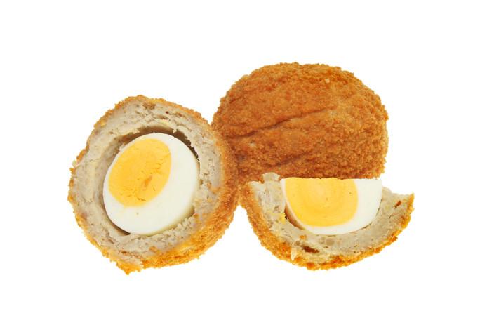 Een eierbal.