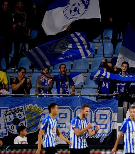 FC Eindhoven walst opnieuw over FC Dordrecht heen en gaat gedeeld aan kop