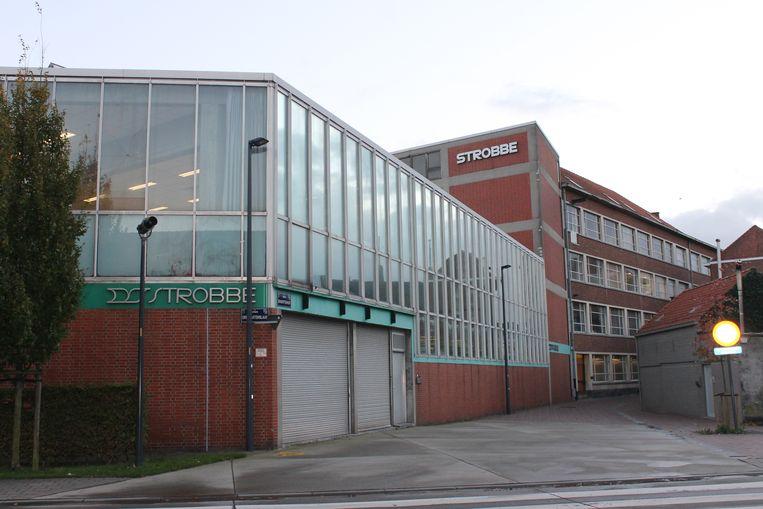 De verlaten drukkerij Strobbe gaat in september eenmalig open voor fotografen.