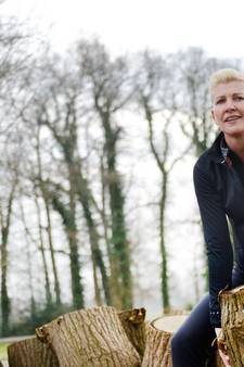 Obstakelrun rond woning van Marianne  Moes in Losser