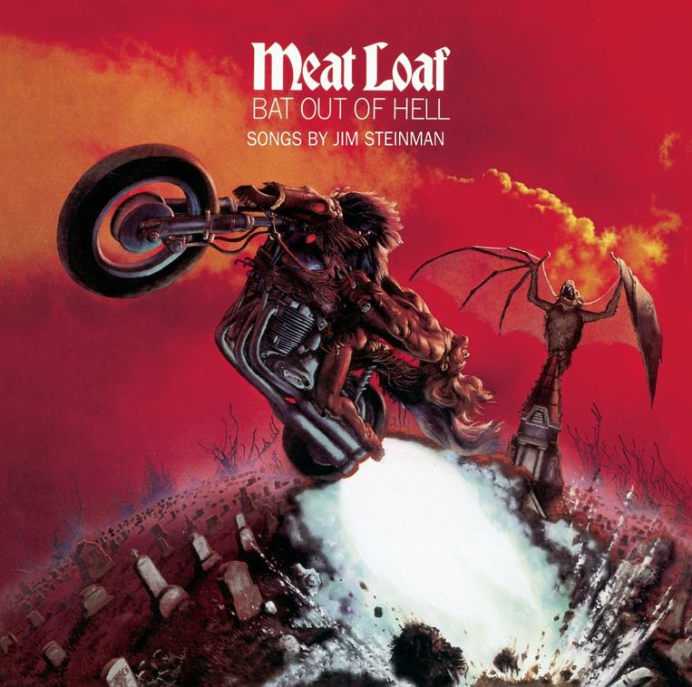 Meat Loaf - Bat Out of Hell (1977). Beeld