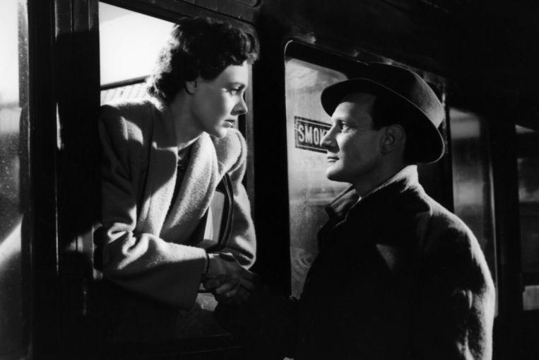 Celia Johnson en Trevor Howard in Brief Encounter (1945). Beeld