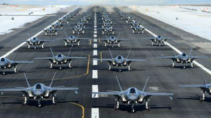 Amerikaanse F-35's oefenen hun olifantenpas