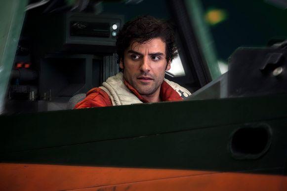 Oscar Isaac als Poe Dameron in 'Star Wars: The Last Jedi'