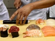 'Schrikbarend hoog percentage bezorgsushi bevat te veel bacteriën'