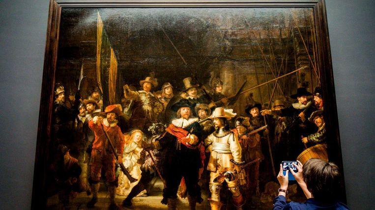 De Nachtwacht van Rembrandt Beeld ANP