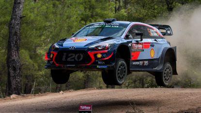 Thierry Neuville staat vierde na eerste dag in Rally van Turkije