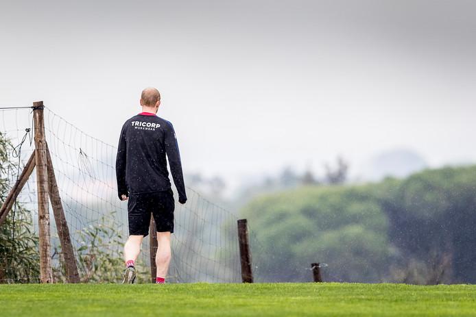 Voor Jop van der Linden zit het trainingskamp van Willem II in Portugal er na twee dagen al op.
