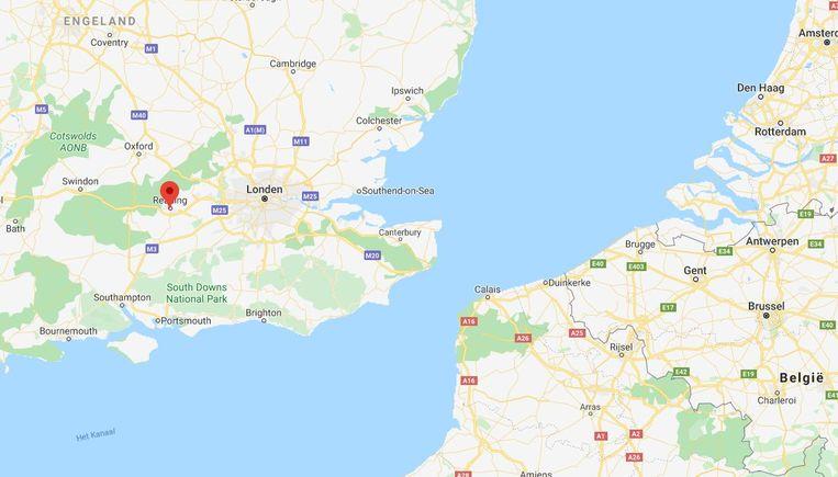 De Engelse plaats Reading ligt ongeveer 65 kilometer ten westen van hoofdstad Londen.