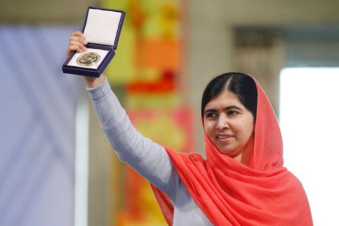 In 2014 kreeg Malala Yousafzai op 17-jarige leeftijd de Nobelprijs voor de Vrede.