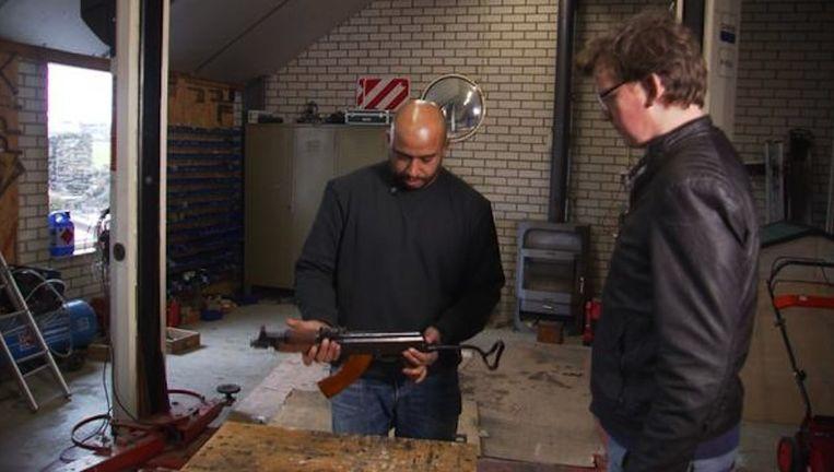 Het door RTL gekochte wapen. Beeld RTL