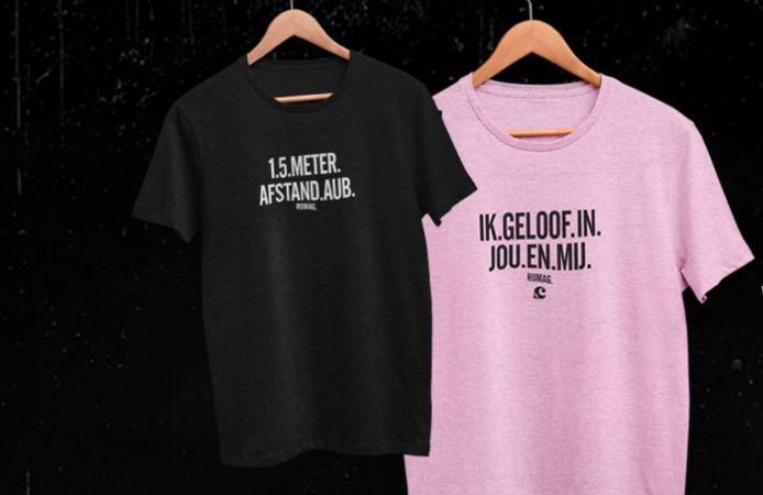 De shirts van Rumag.