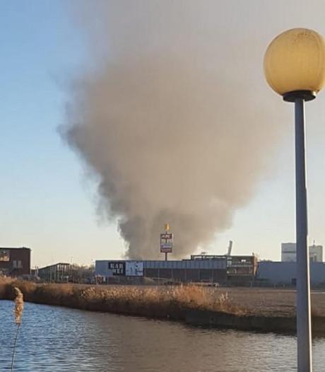 Grote brand in bedrijf Westelijk Havengebied