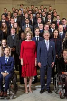 Les champions belges de l'année reçus au Palais royal