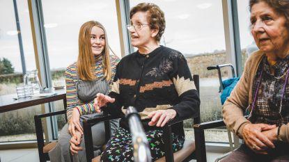 """Op bezoek in de 'rusthuisklas'. Tille Heyerick (12): """"Zelfs een kort bezoekje kan al wonderen doen"""""""