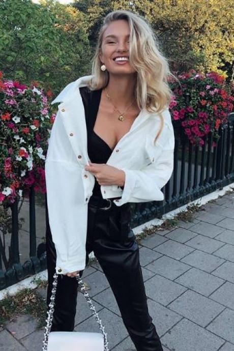 Topmodel Romee Strijd neemt gas terug: 'Geluk zit in jezelf'
