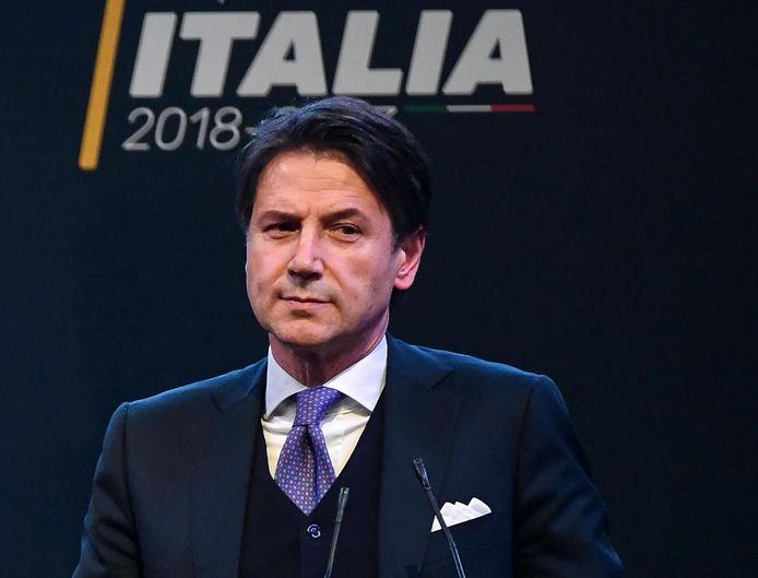 Giuseppe Conte, Premier ministre italien.