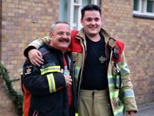 Afzwaaiende brandweerman Tonny verrast met eindoefening
