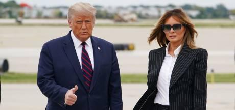 """Melania Trump annule un déplacement en raison d'une """"toux persistante"""""""