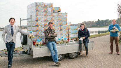Geen 'Eieren na Pasen' op De Ster: meer dan 8.000 paaseieren gaan naar bewoners en personeel van woonzorgcentra