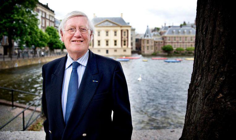 Wiegel is nog vaak in Den Haag. Beeld Guus Schoonewille