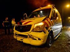Aanrijding met ambulance op N397 bij Riethoven
