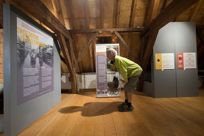 De meisjesvleugel van het Elisabeth Weeshuis in Culemborg is ingericht als museum.