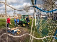 Voetbalclub SDC Putten blijft strijden voor subsidie onderhoud: 'we willen een veilig veld, geen jacuzzi'