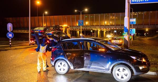 Tweede ongeluk binnen een dag op precies dezelfde plek op Ceintuurbaan in Zwolle.