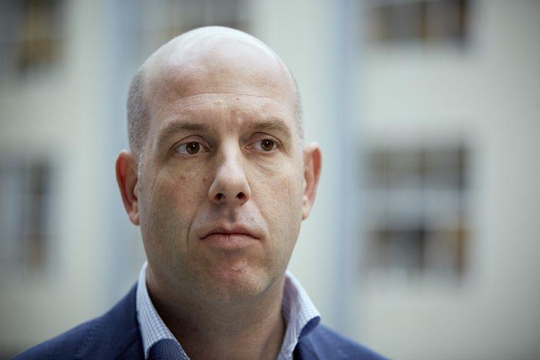 Gijs de Jong, operationeel directeur KNVB. Beeld anp