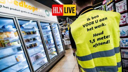 LIVE. Ook winkelen in buurland vanaf vandaag weer mogelijk - 125 nieuwe besmettingen en 23 overlijdens