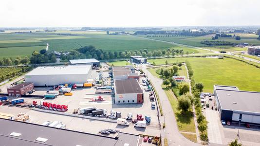 Bedrijventerrein Westerhout-Zuid in Druten raakt langzaamaan vol.