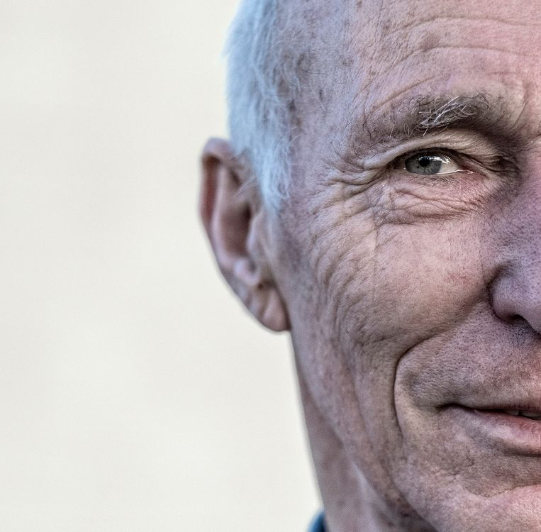 Gerard Koolschijn (45) is classicus en schrijver.  Beeld Patrick Post