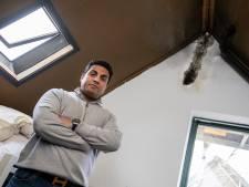 Bliksem slaat in dak van woning in 's-Gravenzande en brengt boom tot ontploffing in Rijswijk