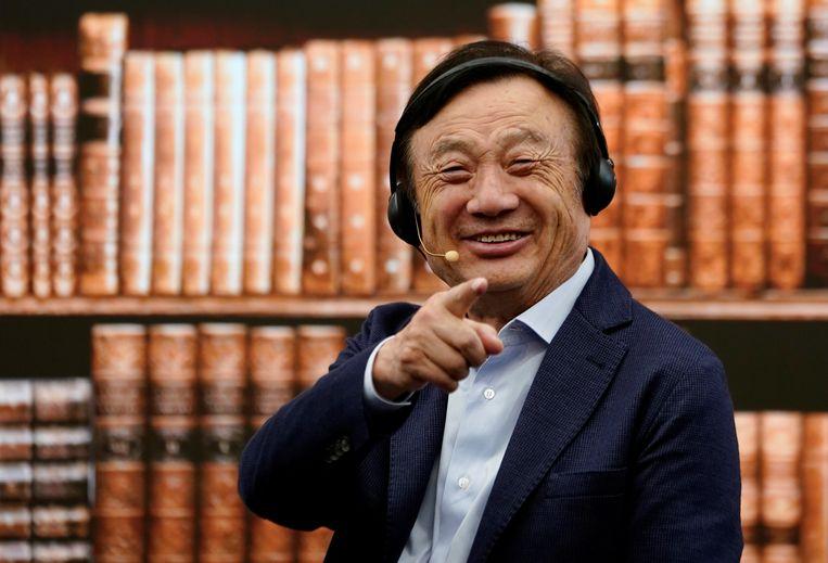 Huawei-oprichter Ren Zhengfei.  Beeld null