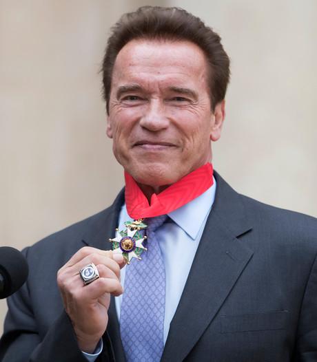 Schwarzenegger krijgt hoogste Franse onderscheiding