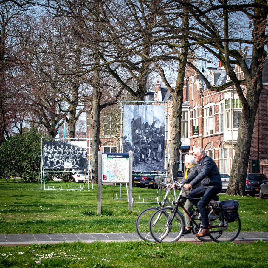 """René Luijsterburg maakte eerder al een app voor de wandelroute langs de doeken van fotoclub FoBoz in Bergen op Zoom. ,,Die is al 2300 keer gebruikt."""""""