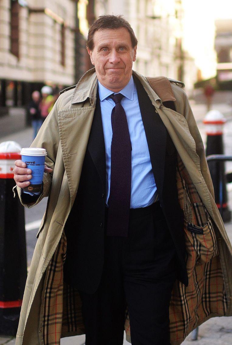 Voormalig royalty-verslaggever Clive Goodman. Beeld epa