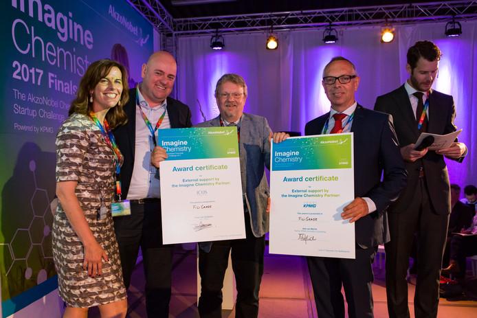 Filligrade won twee prijzen in een wedstrijd om productvernieuwing in de chemiesector.