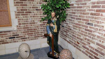 Een nieuwe thuis voor de beelden van Jozef, Maria en Sint-Antonius