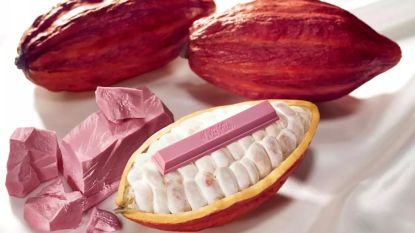 Hoera! Vanaf morgen kun je roze chocolade online bestellen in ons land