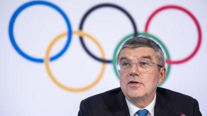 """IOC-voorzitter Bach over de Spelen: """"We hebben nog vier maanden te gaan en handelen in het belang van de atleten"""""""