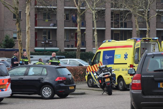 Een steekpartij heeft vanmorgen grote consternatie veroorzaakt in Apeldoorn.