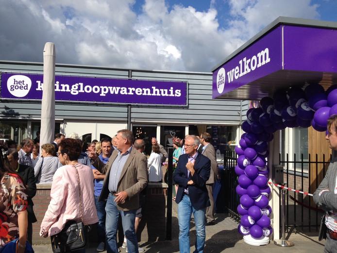 De opening van kringloopwarenhuis Het Goed in Schijndel.