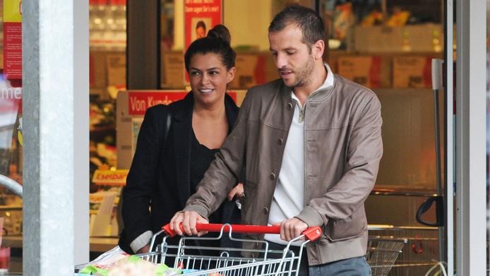 Sabia en Rafael doen boodschappen in Hamburg.